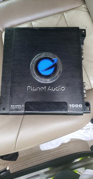 Planet Audio 1000 watt amp works for Sale in Charlotte, NC