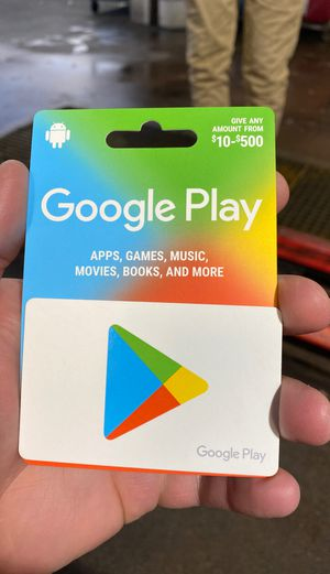 $125 Google Play card for Sale in PA, US