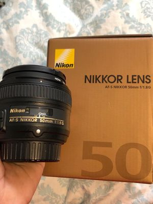 Nikon 50mm AF-S f/1.8G for Sale in Seattle, WA