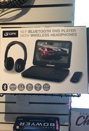 New in box 10.1 Bluetooth DVD player for Sale in Wheeling, IL