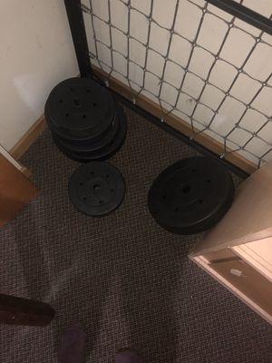 Weights and bench for Sale in Portland, OR