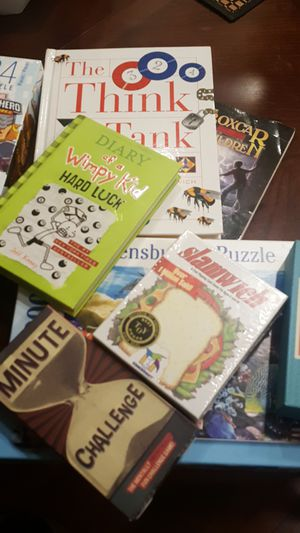 Books, games, puzzles for Sale in Bellevue, WA