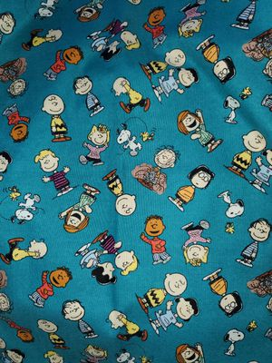 Charlie brown fabric for Sale in Dixon, MO