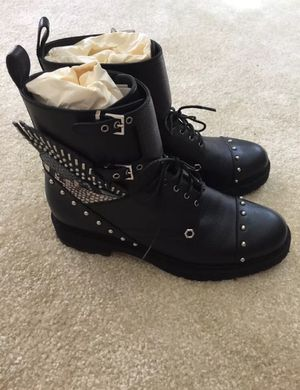 Brand New Fendi Studded Combat Boots Sz 8 for Sale in Annandale, VA