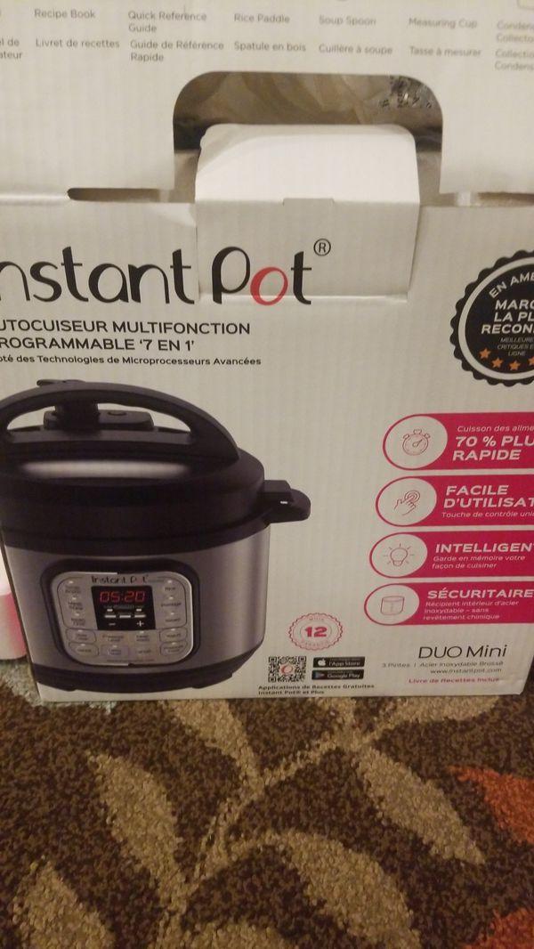 instant pot 7 in 1 use duo mini