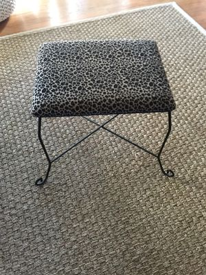 Leopard print stool for Sale in Spring Valley, CA