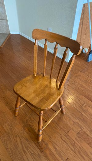 Brown wooden chair for Sale in Wylie, TX