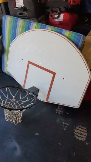 Basketball hoop and backboard for Sale in Phoenix, AZ