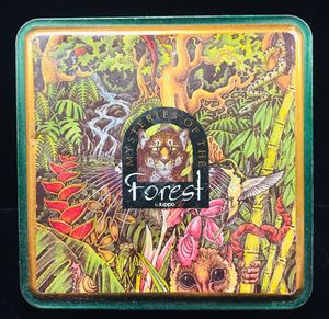 00000000Zippo 1995 Limited Edition Mysteries of the Forest 4 lighter set mint In Tin. Never used for Sale in Miami, FL