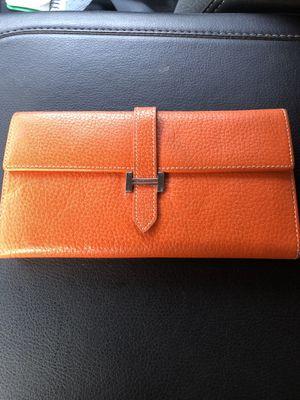 Hermès ladies wallet clutch series for Sale in Corona, CA