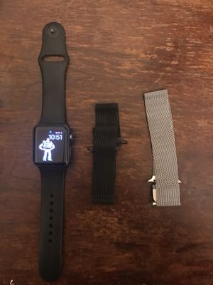 Apple Watch 38mm series 2 with straps for Sale in Hamtramck, MI