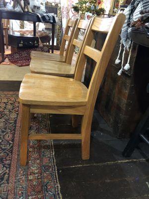 Vintage Preschool wood chairs for Sale in Rockville, MD
