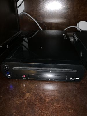 Nintendo Wii U Deluxe Set: Super Mario 3D World and Nintendo Land Bundle - Black 32 GB for Sale in Orlando, FL