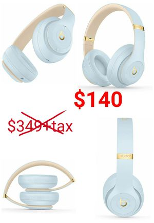 ($349.95+tax retail) Beats studio 3 wireless (Crystal Blue) for Sale in East Los Angeles, CA