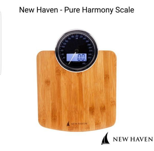 Bamboo electric weight scale