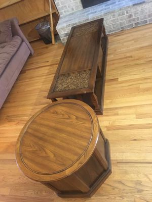 Coffee and End Table for Sale in Bellevue, WA