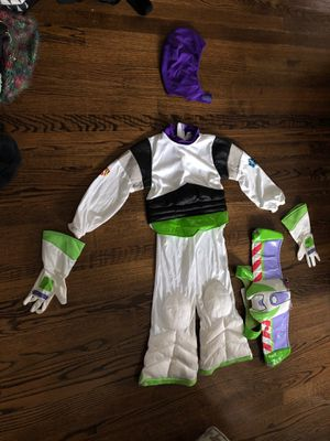 Buzz Lightyear Costume/ Disney Store size S, 5/6 for Sale in Wayne, NJ