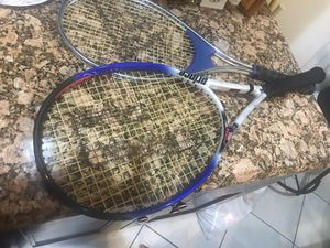 2 Tennis rackets for Sale in Fort Lauderdale, FL