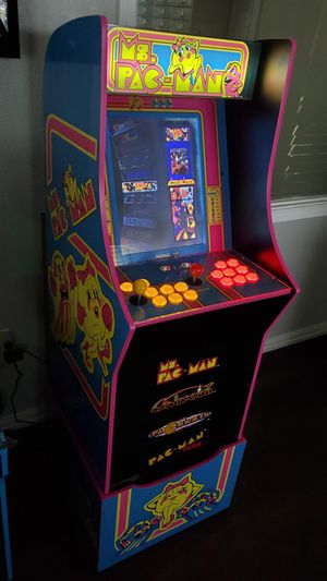THOUSANDS OF GAMES BRAND NEW Ms. Pacman Arcade Machine for Sale in Irving, TX