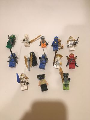 LEGO ninjago minifigures for Sale in Richmond, VA