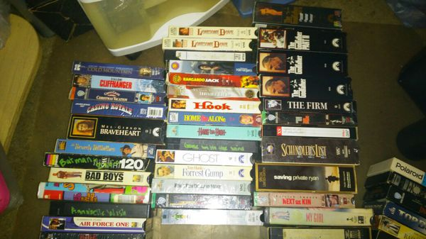 VHS Tapes & collection sets