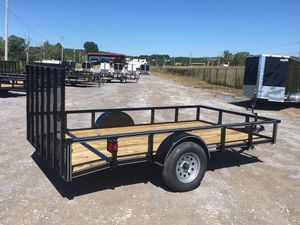 New 6.5x12 Premium Dovetail Utility Trailers for Sale in LaFayette, GA