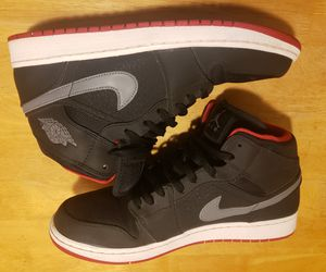 "Retro Air Jordan 1 ""Black/ Cool Grey"" Sz 12 for Sale in Phoenix, AZ"