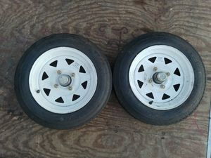 4.80-12 TRAILER TIRES & WHEELS for Sale in West Valley City, UT