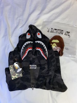 Bape hoodie black for Sale in Tacoma, WA