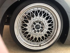 JNC 031 17x9 5x100 5x114.3 for Sale in Covina, CA
