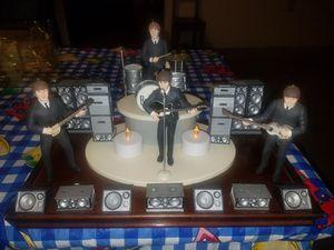 """The Beatles Hallmark super stage set 3 3/4"""" action figures for Sale in Beltsville, MD"""
