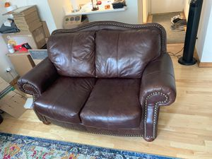 Couch (leather) for Sale in New York, NY