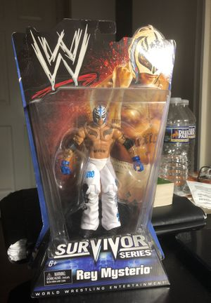 2009 SURVIVOR SERIES REY MYSTERIO ACTION FIGURE for Sale in Fairfax, VA