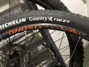 Ghost Alexrims rims and Michelin Country Race's Tires for Sale in Prineville, OR