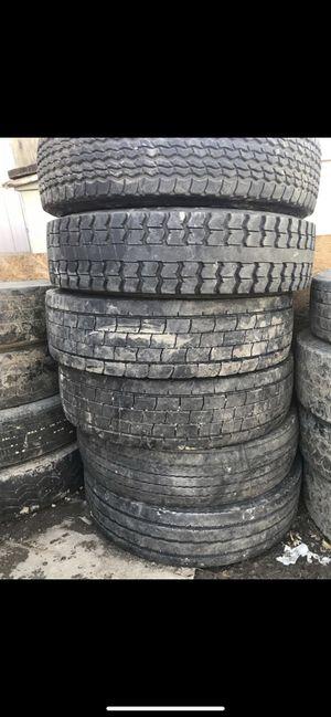 Semi Truck Tires. Llantas Para Trailers for Sale in Denver, CO