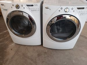 Whirpool duet steam washer and dryer electric for Sale in Phoenix, AZ
