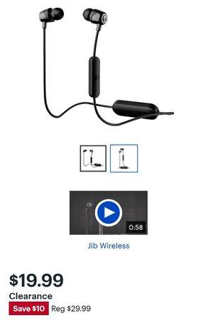Skullcandy - Jib Wireless In-Ear Headphones - Black for Sale in Jacksonville, FL