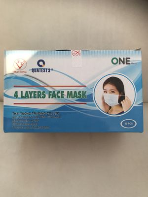 Brand New Disposable Face Masks Four Layers for Sale in Garden Grove, CA