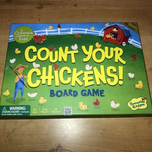 Count Your Chickens Game (All Pieces Included) for Sale in Burrillville, RI