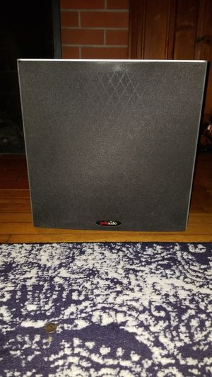 Polk audio 10 inch subwoofer for Sale in Tiverton, RI