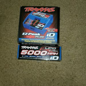 Traxxas Rc Car Charger And Battery LIPO for Sale in Cedar Mill, OR