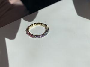 Multi color sterling silver ring for Sale in Norwalk, CA