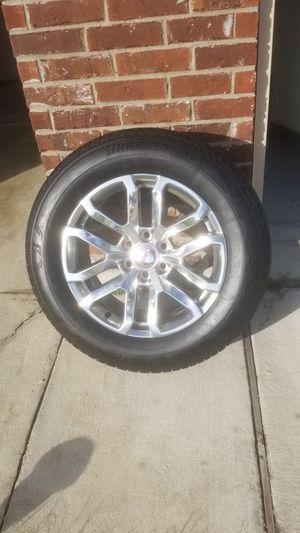 "GMC 20"" rims with tires. for Sale in Denham Springs, LA"
