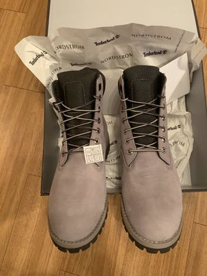 Timberland Grey Men BOOTS 10.5 NEW OBO Sell for $179 in store for Sale in Elk Grove Village, IL