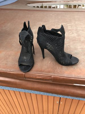 Open Black High Heel Low Boots for Sale in Parkville, MD