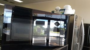 Microwave black used as a new for Sale in Haines City, FL