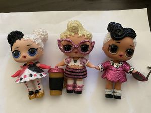 Lol dolls lot of 3 for Sale in Portland, OR