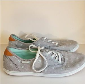 Vans Off The Wall Palm Trees Mint & Gray Size 7.5 for Sale in Owensboro, KY