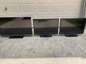 "2 Emerson 35"" and 1 Sony 45"" flat screen TV's for Sale in San Antonio, TX"