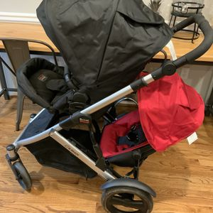 BRITAX B Ready Double Colapsable Stroller for Sale in Greenville, SC
